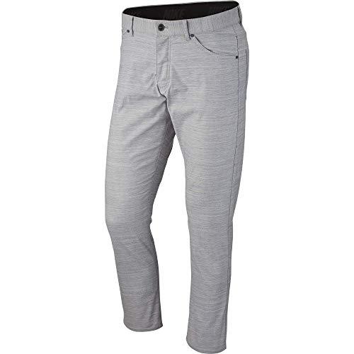 (NIKE Men's Flex Slim 5-Pocket Golf Pants, Light Carbon/Pure/White, Size 30/30)