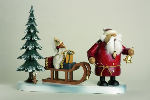 KWO Santa Claus Is Coming German Incense Smoker