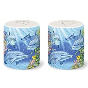 41W8cdr0LbL._SS300_ Beach Salt and Pepper Shakers & Coastal Salt and Pepper Shakers