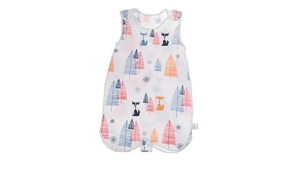 Baoblaze Baby Sleeping Bag Kids Summer Lightweight Cotton Sleep Bag Wearable Blankets M Fox Forest