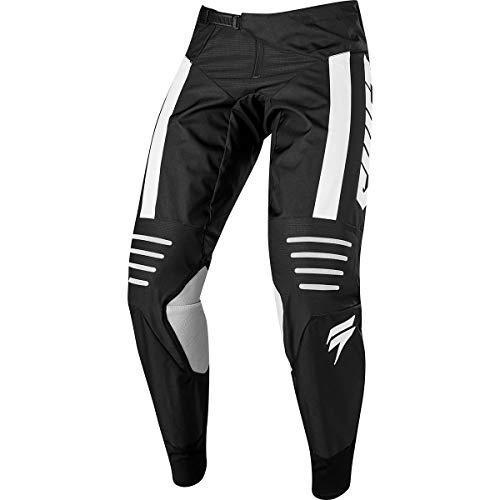 Shift Racing 3lack Strike Men's Off-Road Motorcycle Pants - Black/White / 34
