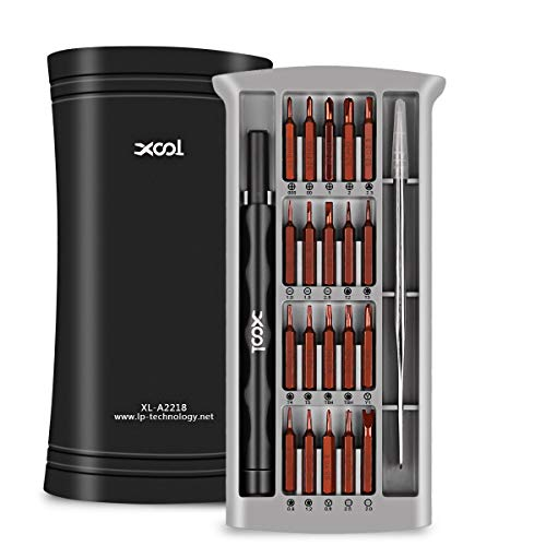 XOOL Precision Screwdriver Set, Pentalobe Screwdriver Tiny Screwdrivers Electronics Screwdriver Set Screw Driver Kit Torx Magnetic Screwdriver Set for iPhone PC Macbook Computer Tablet Cellphone ()