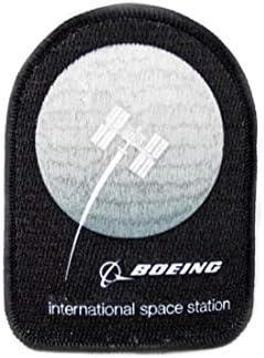 (ボーイング) BOEING 【Path to Mars International Space Station Patch】 ボーイング 刺繍 ワッペン (パッチ)