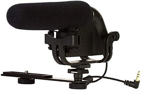 mic-803 Cámara montada micrófono de cañón para Sony Alpha SLT-A33 ...
