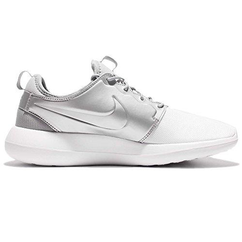 White Sneakers Metallic Silver Herren Elfenbein Two White Roshe Nike tqwXpq