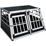 Transportbox Hundebox Reisebox Alubox Autohundebox 50 x 89 x 69 cm