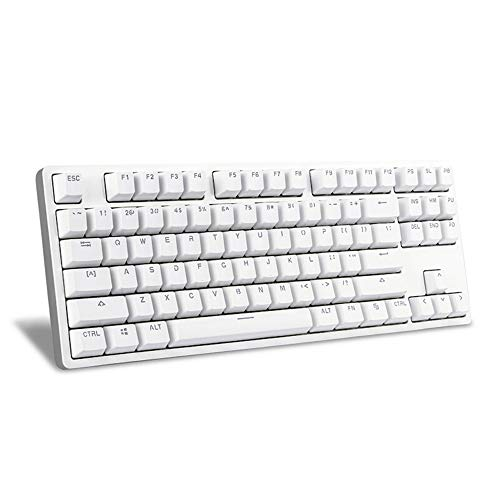 Xiaomi YUEME MK01 Mechanical Keyboard 87 keys TTC Red Switch Aluminum Alloy Body, Minimalist Design Backlit Office / Gaming Keyboard Compatible PC / Mac / Laptop