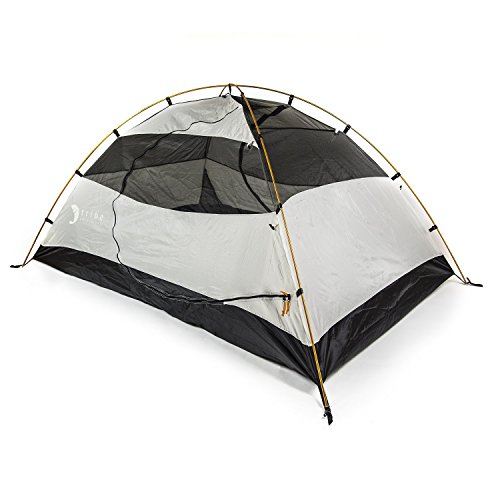 Tribe Provisions Adventure Tent II - 2 Person Lightweight Tent with Rainfly. 3 Season. Great for Bac