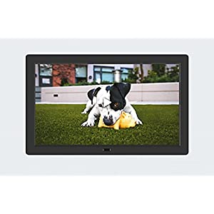 PF8050IPS 8inch IPS panel Digital Photo Frame High resolution - Photo, music, video, clock, calendar functions (Black)
