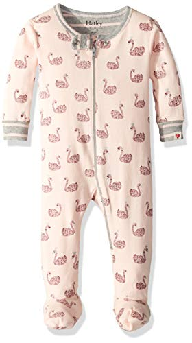 Hatley Baby Girls Organic Cotton Footed