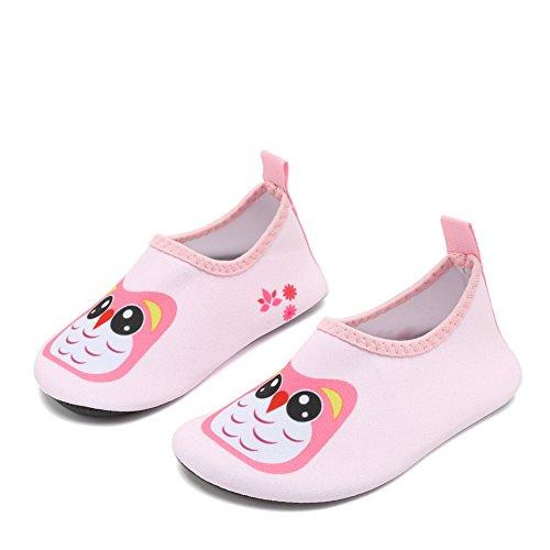 17a90875012 Fantiny Baby Boys Grils Water Shoes Unisex Infant Barefoot Skin Aqua Socks  for Beach Swim Pool