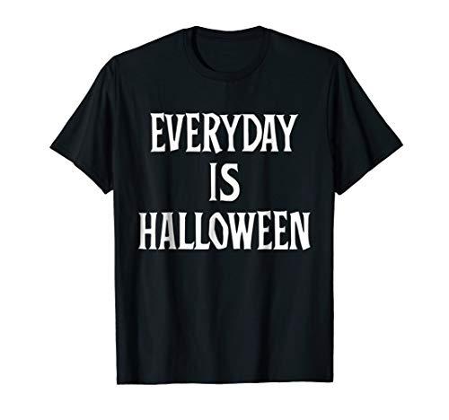 Everyday Is Halloween Pastel Goth Punk Kawaii T Shirt ()