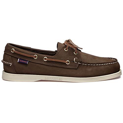 Sebago Luxury Fashion Mens 7000GA0901 Brown Loafers | Spring Summer 20