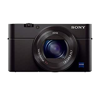 Sony Cyber-Shot DSC-RX100 III Digital Camera, 20.1MP - Bundle with Case, 32GB Class 10 SDHC Card, Cleaning Kit, USB Card Reader