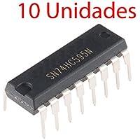 x10 Registro Desplazamiento SN74HC595N 8-bit Shift Register 74HC595