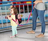 Good Gear Backpack with Safety Harness Leash, Space Rocket, Child Baby Toddler Travel