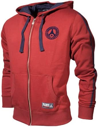 PARIS SAINT-GERMAIN Veste /à Capuche PSG Collection Officielle Taille Homme