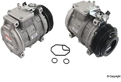 Denso 471-1234 New Compressor with Clutch