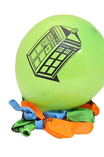 Doctor Who Balloons (Pack of (Doctor Who Birthday Party Supplies)