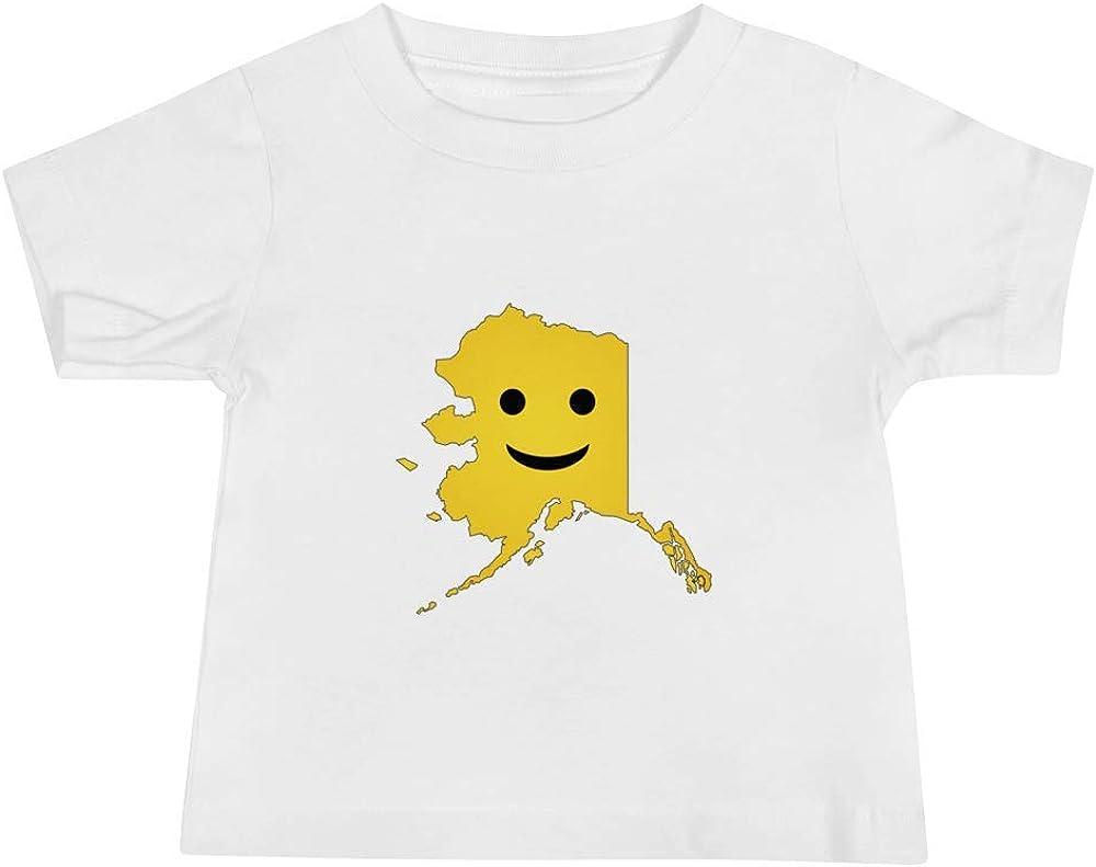 Alaska Emoji Baby Short Sleeve Tee T-Shirt