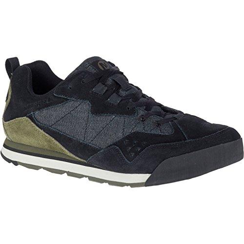 Merrell Burnt Rock Tura Denim Low Shoes 8.5 D US Black Dusty