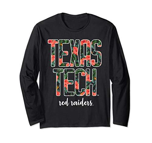 College Long Sleeve Tee - Texas Tech Women's College NCAA Long Sleeve Tee SMR18TT
