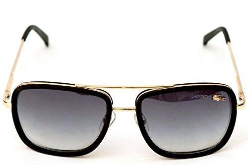 997e73793e0d Lacoste L 143S Wayfarer Golden Black for Men   Women - Unisex ...