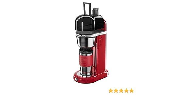 KitchenAid Empire - Cafetera individual Roja 5KCM0402: Amazon.es ...