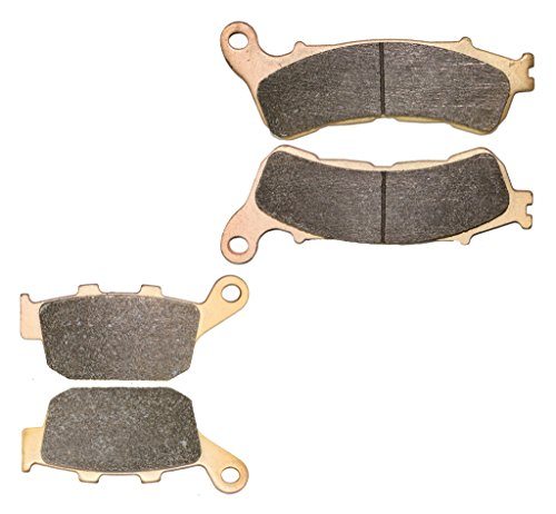 CNBK Sintered Brake Shoe Pads Set for HONDA Street Bike CBR250 CBR 250 cc 250cc RAB ABS 2011 2012 2013 2014 2015 11 12 13 14 15 4 Pads