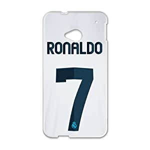Hope-Store Ronaldo 7 Fashion Comstom Plastic case cover For HTC One M7