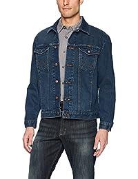 Wrangler Mens Western Style Unlined Denim Jacket Denim Jacket