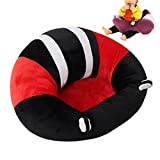 Baby Feeding Chairs Sofa Infant Bag Kids Children Chair Princess Sofa Portable Seat For Baby Comfortable Infant Sitting Chair (17.5'' x 17.5'' x 10'', Red)