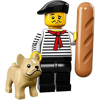 LEGO Collectible Minifigure Series 17 - French Connoisseur (71018): Toys & Games