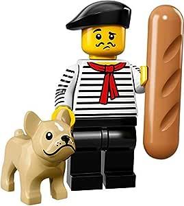 Genuine Lego minifigures The French Gourmet Chef de série 17