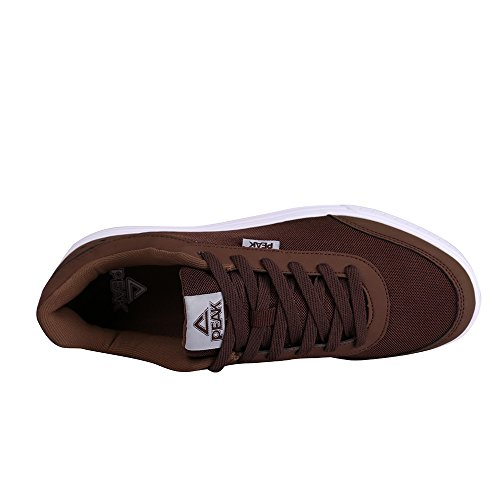 Peak Lav Skateboard Sneaker For Menn Kaffe
