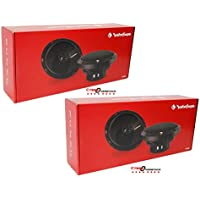4 x ROCKFORD FOSGATE P1650 6.5-INCH 6-1/2 2-WAY CAR AUDIO COAXIAL SPEAKERS