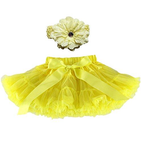 Wennikids Girl's Tutu Chiffon Petticoat Pettiskirt