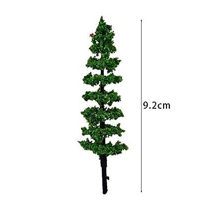 Pine Tree /& Myrtle Tree Home Statue 10pcs Fairy Garden Tree Miniature