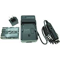 JIOOYEE Battery + Charger For Samsung SC-D23 SC-D27 SC-D29 SC-D67 SC-D70 MiniDV Camcorder