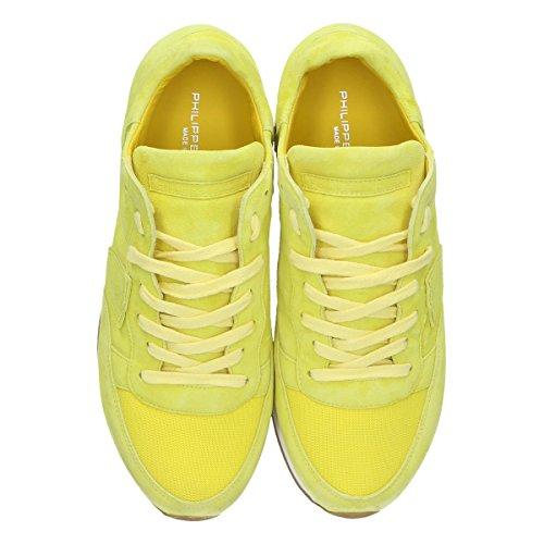 Trldnd02 Donna Philippe Giallo Model Sneakers Camoscio ERwqvtHw