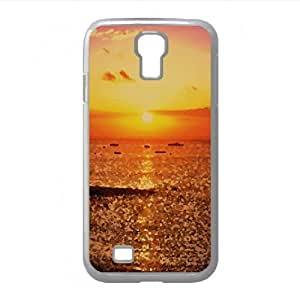Sunset at Salvador 2 Watercolor style Cover Samsung Galaxy S4 I9500 Case (Sun & Sky Watercolor style Cover Samsung Galaxy S4 I9500 Case)