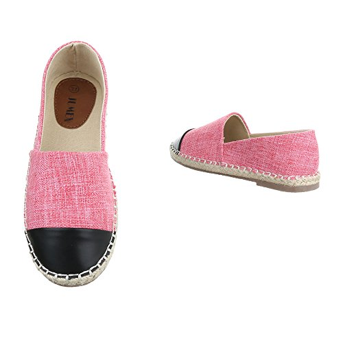 Ital-Design - Zapatillas de casa Mujer Pink CC8586