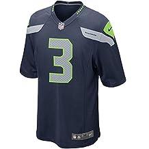 Nike Boy's Seattle Seahawks Russell Wilson #3 Football Jersey Blue 2T
