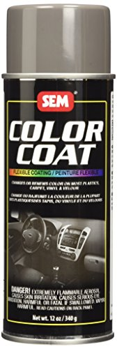 Interior Paint Aerosol - SEM 15813 Medium Dark Pewter Color Coat - 12 oz.