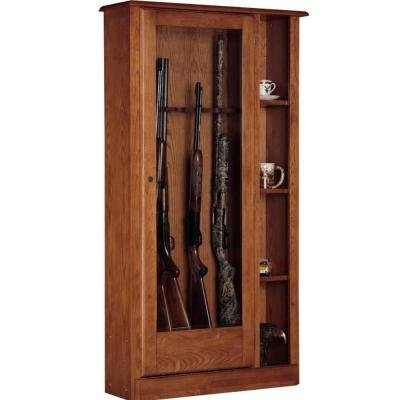 5.51 cu. ft. 10 Gun Cabinet and Curio