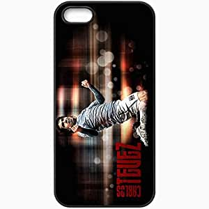 Personalized iPhone 5 5S Cell phone Case/Cover Skin 2013 carlos tevez Black