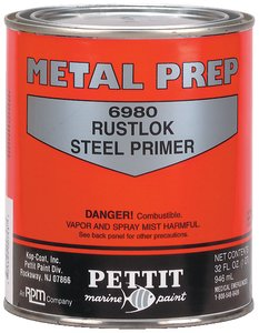 Pettit Paint Rustlok Steel Primer 6980, Gallon