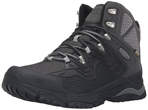 Picture of KEEN Men's Aphlex Mid Waterproof Shoe, Black/Black, 12 M US