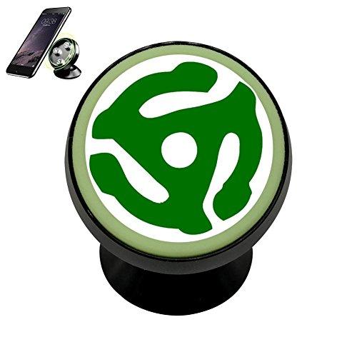 Green 45 Vinyl Record Symbol,Fashion Cool Imported Advanced