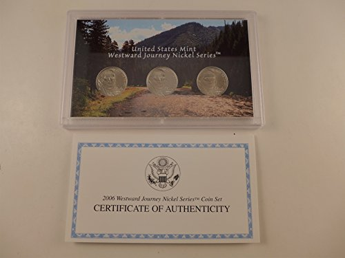 Westward Journey Nickel Series Coin Sets 2004,2005,2006, Uncirculated